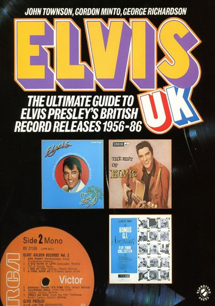 Elvis UK Front Cover